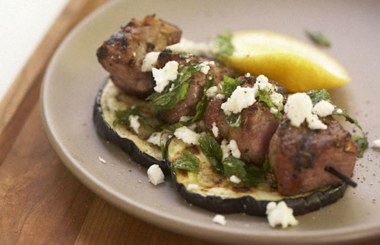 Grilled Lamb with Eggplant, Mint, and Feta. This is your one-stop ...