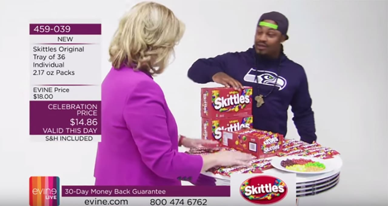 Marshawn Lynch Just Appeared on a Random Shopping Channel to