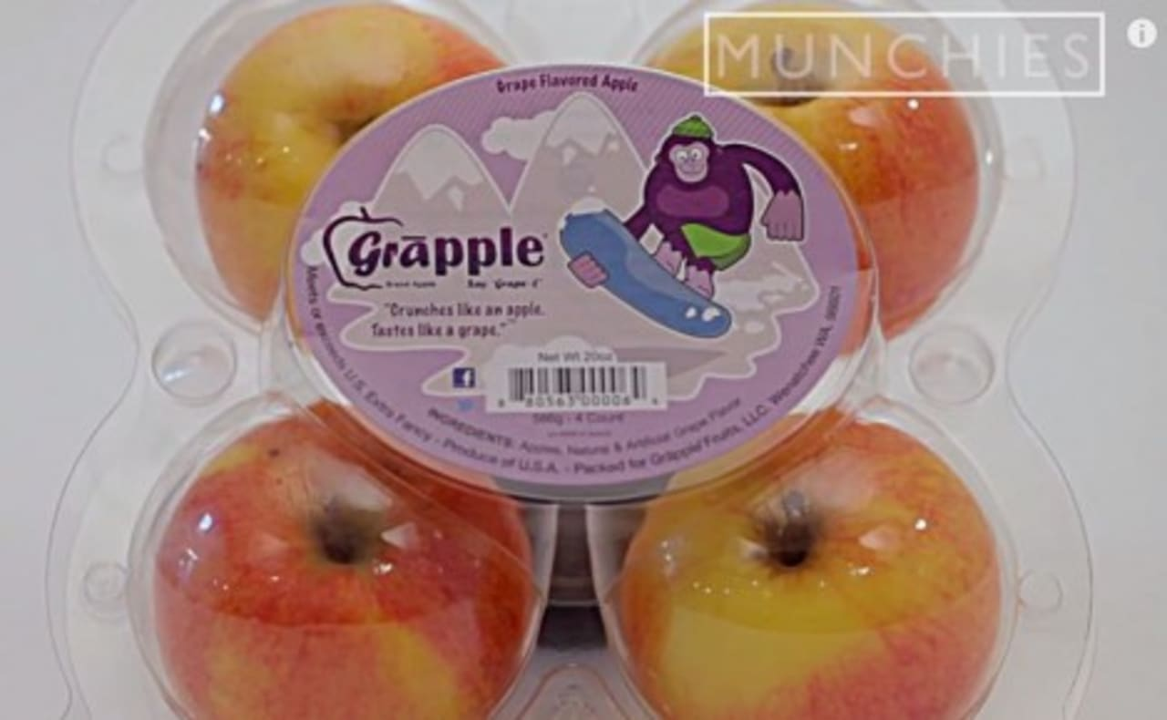 Meet The Grapple An Apple Made To Taste Like A Grape First We