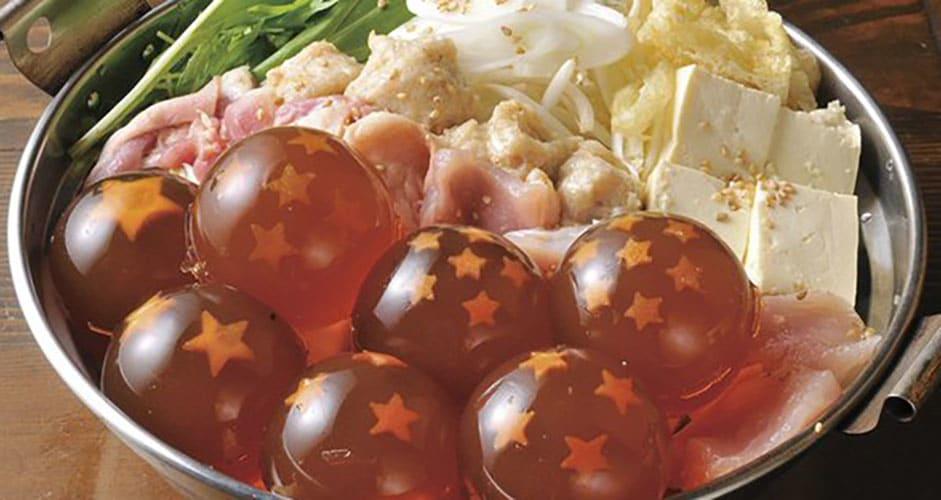 Dragon Ball Chinese Food