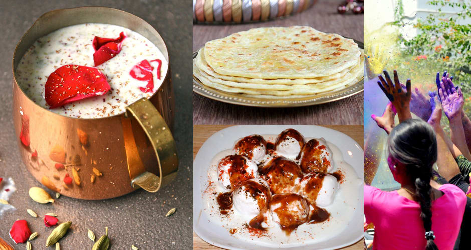 What to eat and drink during holi indias festival of colors the hindu religious festival holi is all about color but its also an excuse to eat foods that awaken the senses and keep your spirits high forumfinder Choice Image