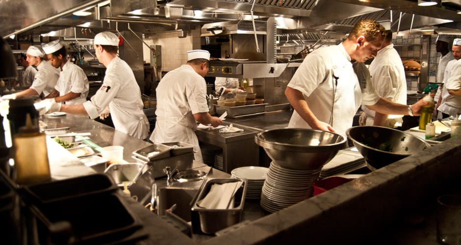 Restaurant Kitchen Chefs kitchen slang 101: how to talk like a real-life line cook | first