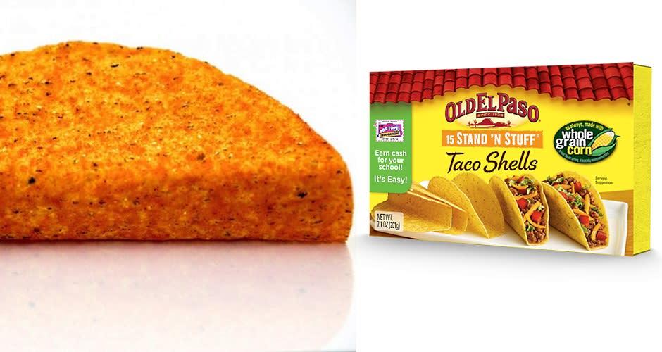 Make doritos locos tacos at home with old el paso 39 s help for Red line motors el paso tx