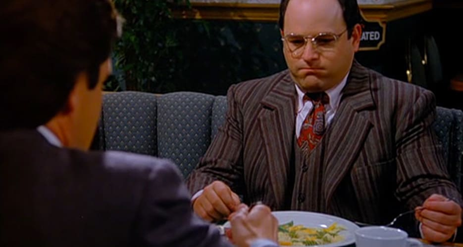 Costanza food and sex 2