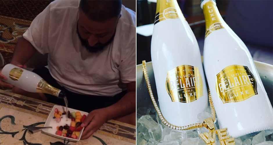 Dj Khaled Drinking Alcohol