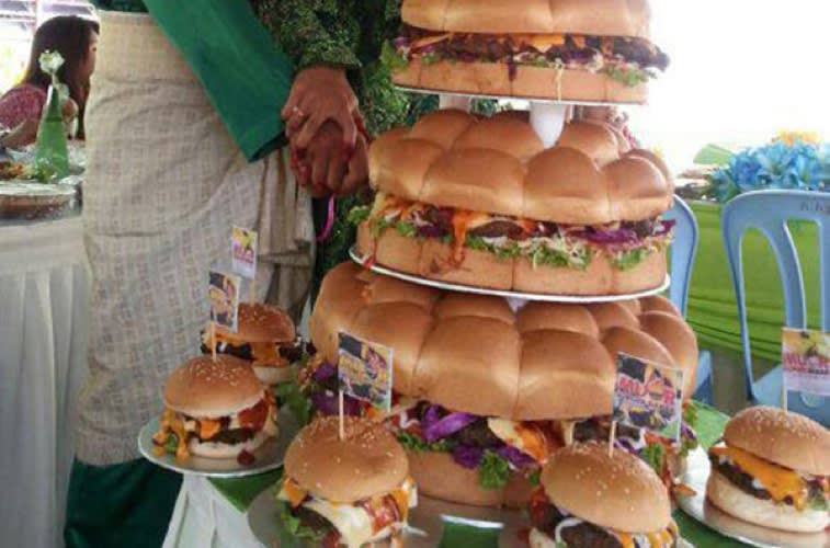 This Hamburger Wedding Cake > Your Wedding Cake | First We Feast