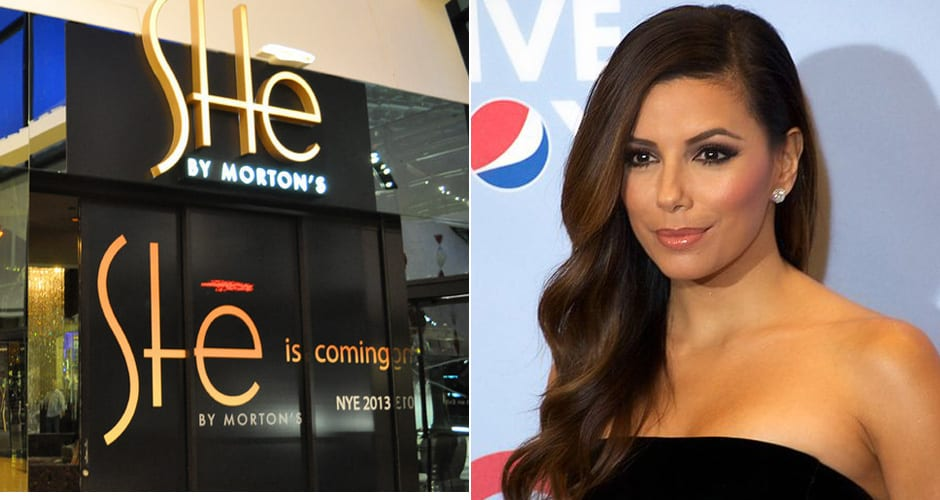 Why i wont be eating at eva longorias feminine steakhouse first actress eva longoria is set to open she by mortons her female oriented steakhouse concept at the end of this year at the aria las vegas voltagebd Choice Image
