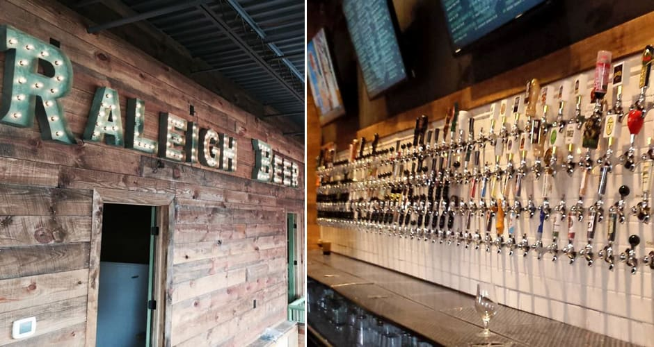 This Raleigh Beer Garden Has More Beers On Tap Than Any