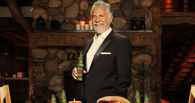 dos equis will replace most interesting man in the world actor by