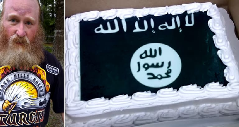 Brilliant Walmart Is Under Fire For Baking An Isis Cake For A Customer Funny Birthday Cards Online Alyptdamsfinfo