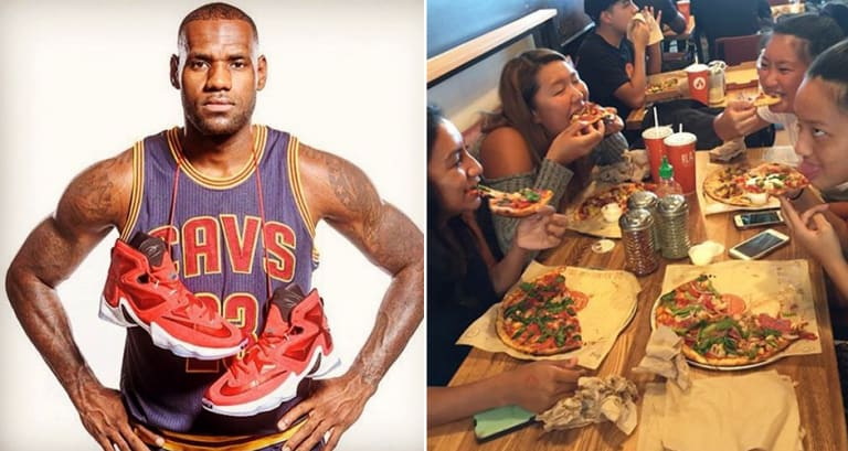 40c8e55069a LeBron s Ditching McDonald s to Become a Pizzeria Franchisee