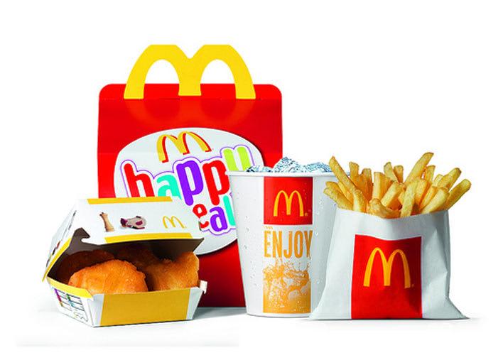 last year the average u s child saw 185 chicken mcnugget happy