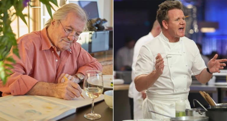 """Jacques Pépin Calls Out Gordon Ramsay's """"Hell's Kitchen"""" in"""