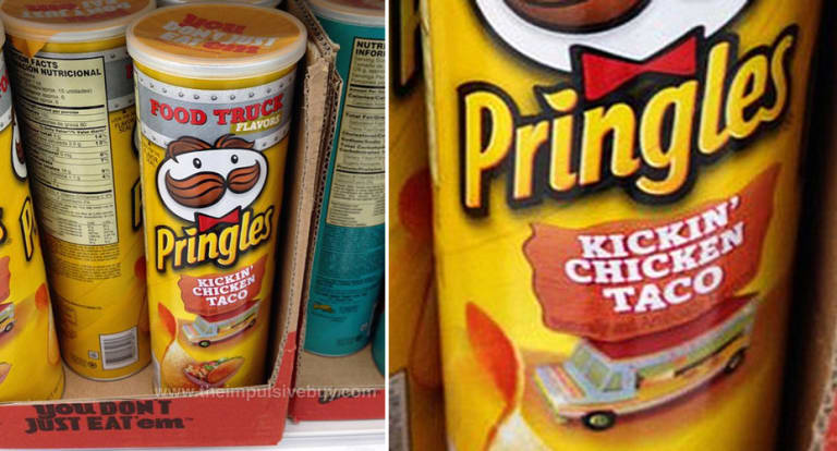 Pringles Releases New Food Truck Flavor Kickin Chicken Taco