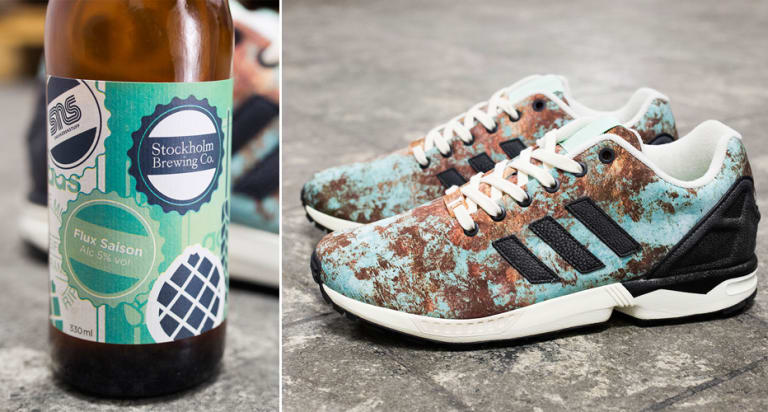 arrives 75811 16087 Sneaker Shop Teams Up With Craft Brewery To Create Beer and Adidas.  Sneakersnstuff created shoes inspired by ...