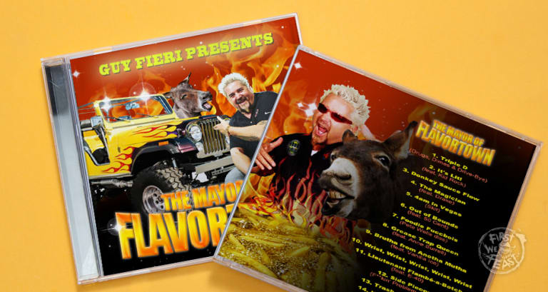 EXCLUSIVE: We Found Guy Fieri's Unreleased Mixtape | First