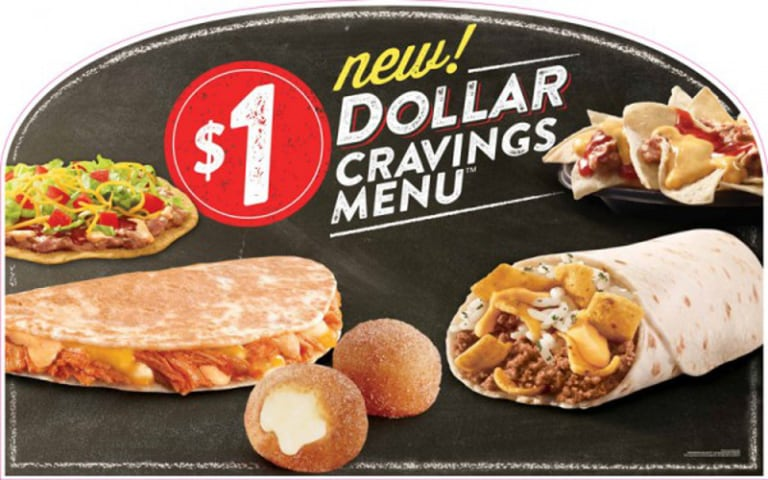 The Nation Saw A Notable Addition To Fast Food Value Menus Today Taco Bell The Chain That Is Currently Testing The Waters With A Bougie Fast Casual