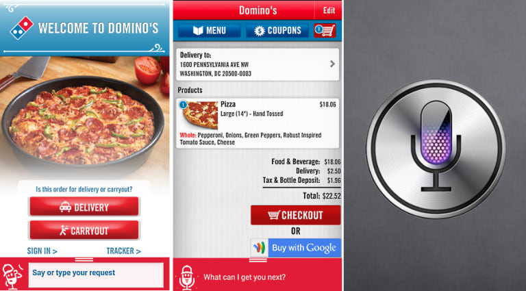 Domino S Pizza Wants You To Call Dom Not Siri First We Feast