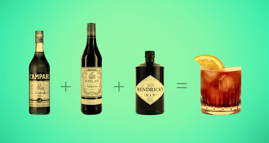 10 easy cocktails everyone should know how to make at home for Good easy mixed drinks