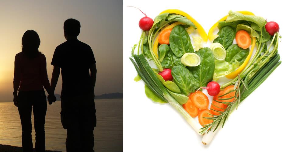 Dating a vegetarian man