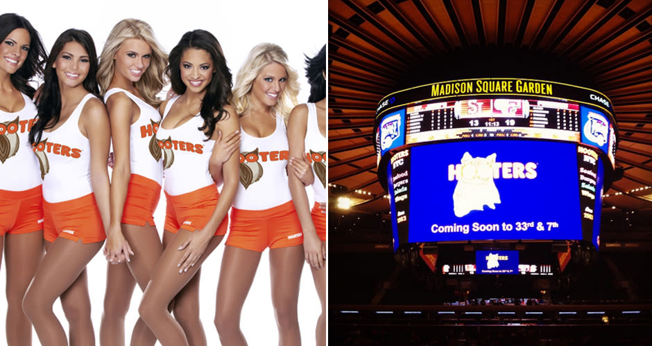 Hooters Moves Across From MSG, So You Can Eat Wings Instead of ...