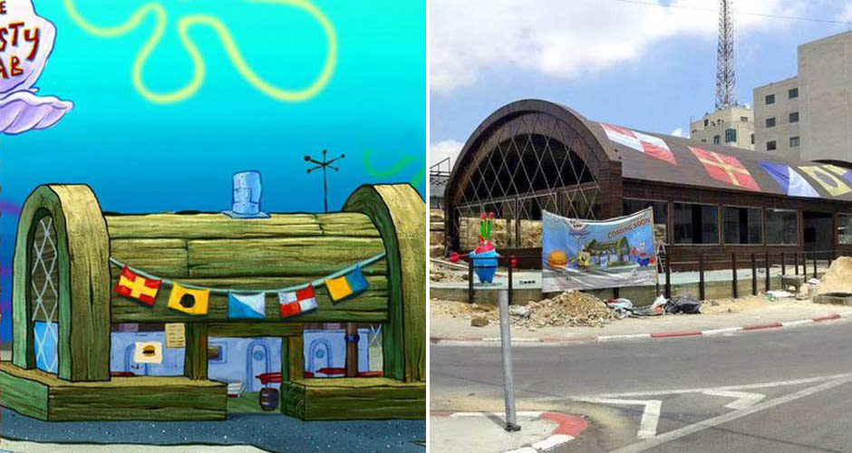A Real-Life Krusty Krab Restaurant Will Be Opening Up in ...