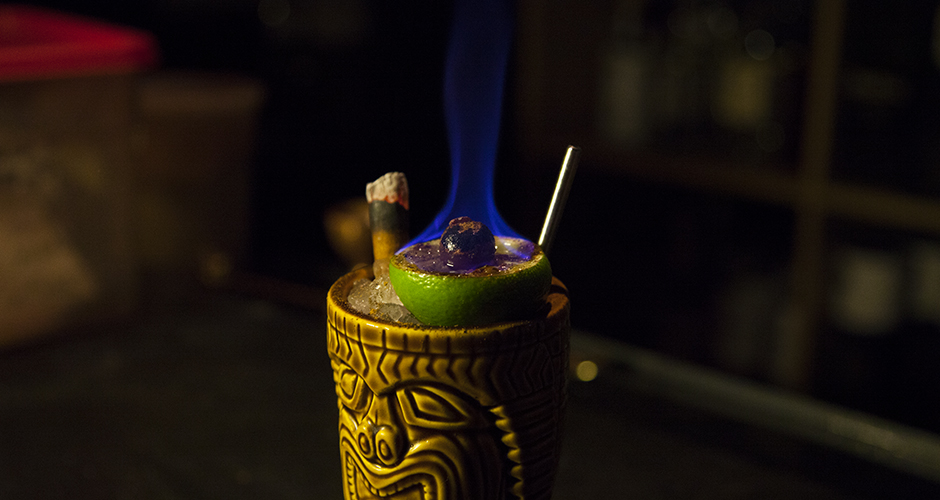 Image result for flaming zombie cocktail
