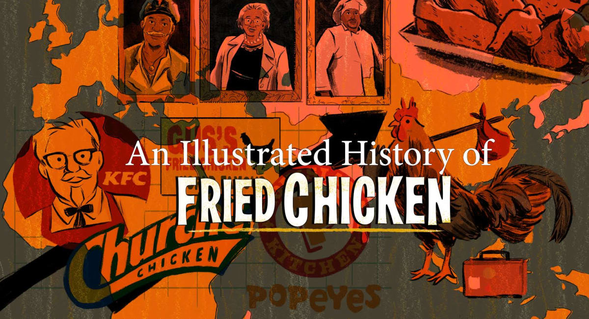 Illustrated History of Fried Chicken | First We Feast