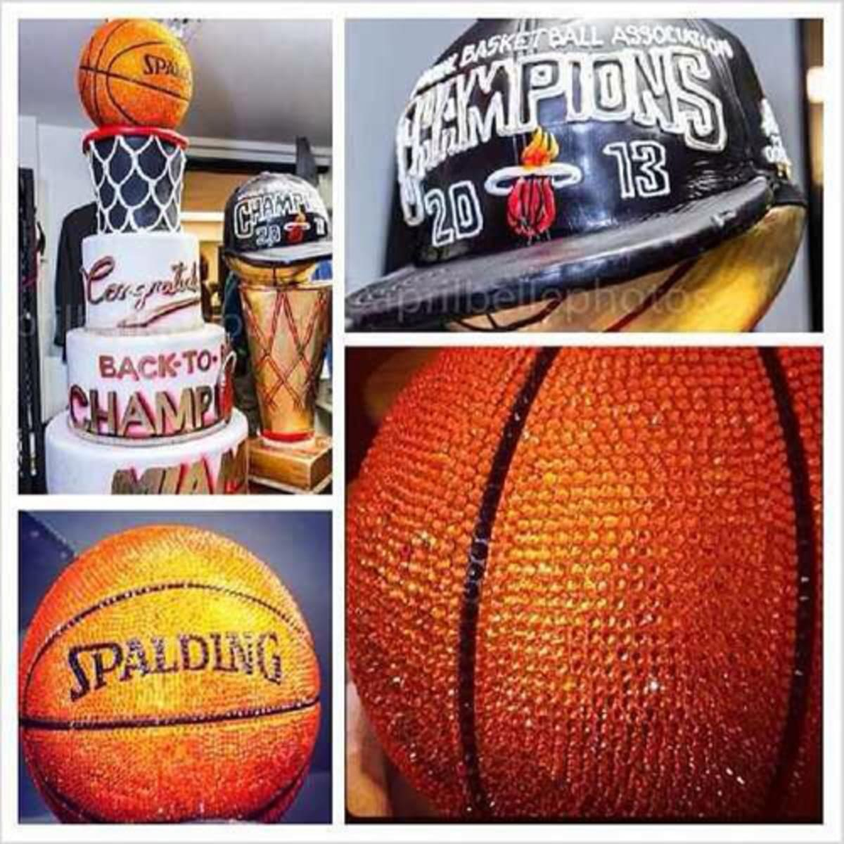 Rum First Paint Miami Heat Celebrate Championship With A Swarovski Crystal