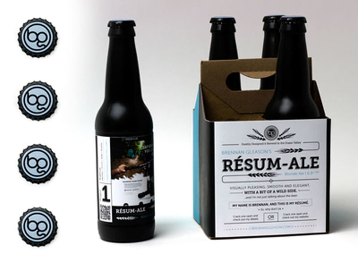 Designer Sends Out A Carton Of Home-Brewed Beer As His Resume ...