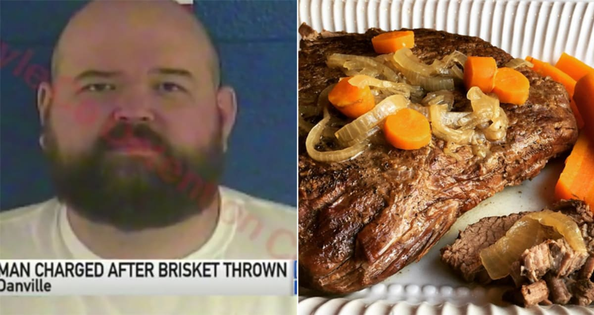 Angry Pitmaster Chucks 200-Degree Brisket at Innocent Woman, Leaving Her With BBQ Burn Marks