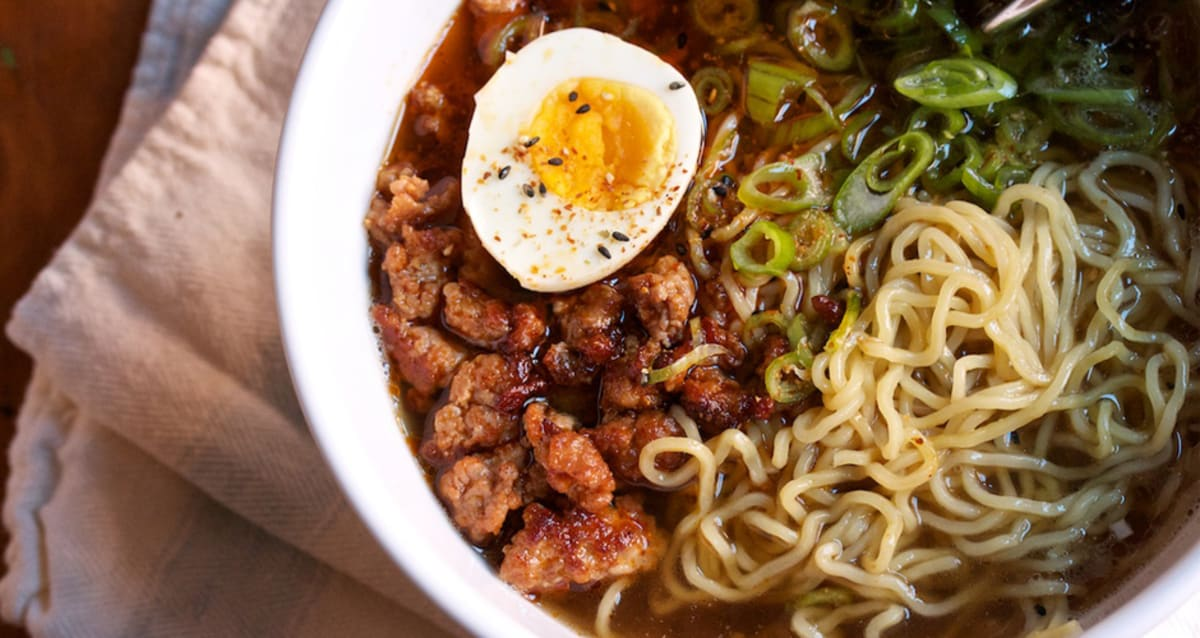 making ramen Making homemade ramen is easier than you think, thanks to khloé kardashian if  you love the noodle and vegetable-packed soup but want to.