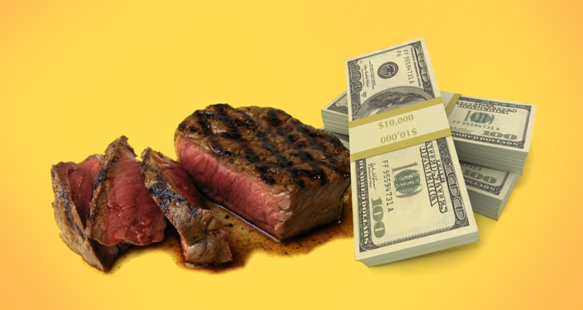 2fde8df6f664 The Most Expensive Steaks In The World
