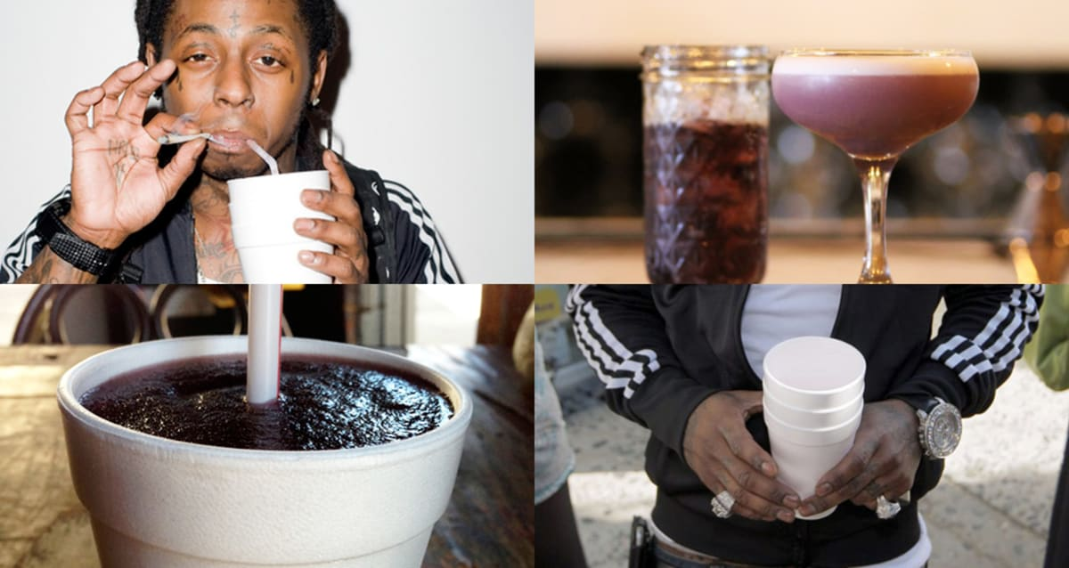 find purple drank unofficial cocktail lil wayne feast