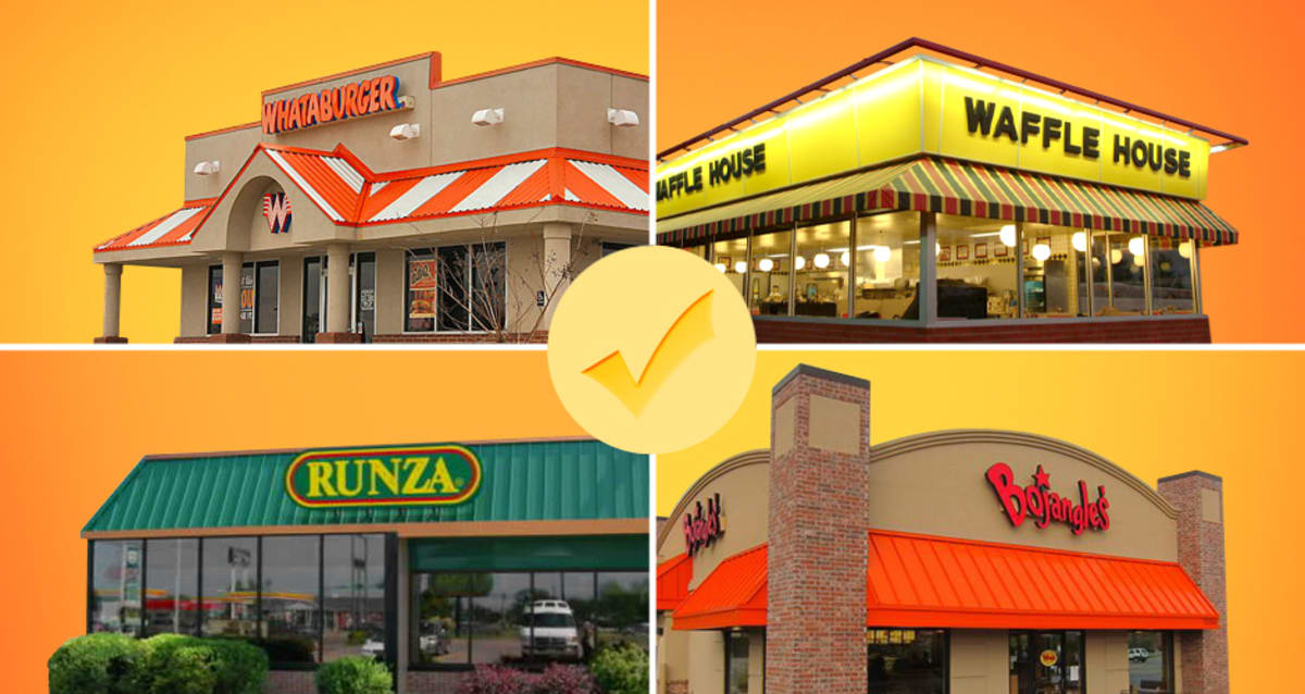 19 Bucket List Regional Fast Food Chains To Try Before You Die