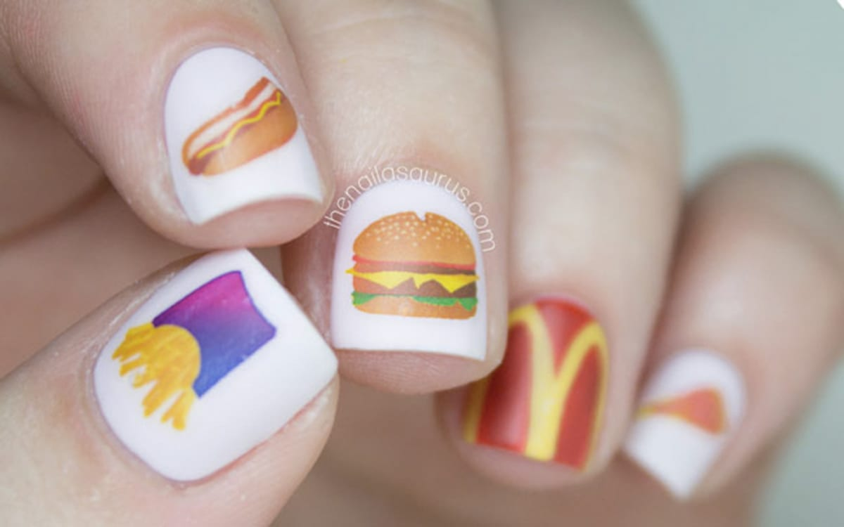 Enter the Weird and Wonderful World of Food-Inspired Nail Art ...