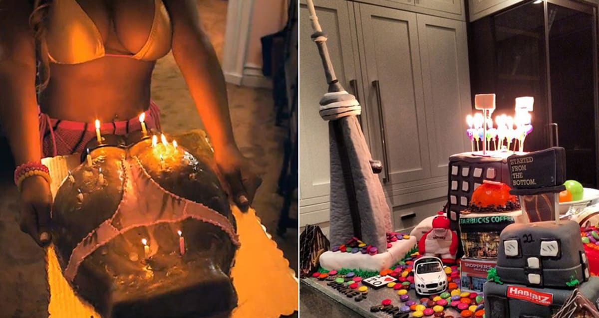 Counting Down The Most Absurd Rapper Birthday Cakes