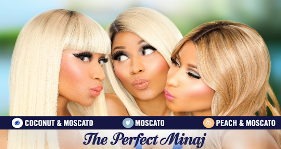 Nicki Minaj To Break The Booze Glass Ceiling With Myx Moscato Deal