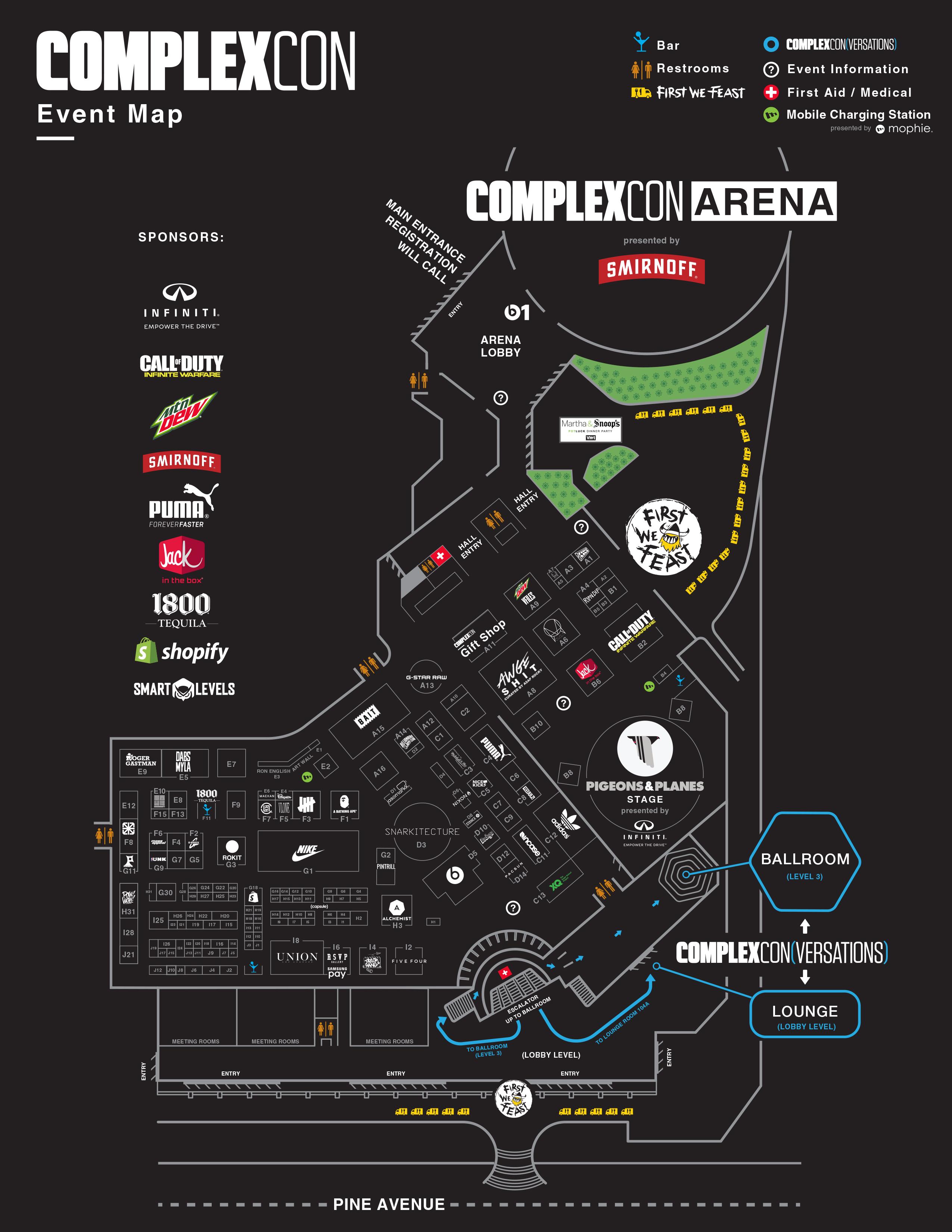 ComplexCon Map