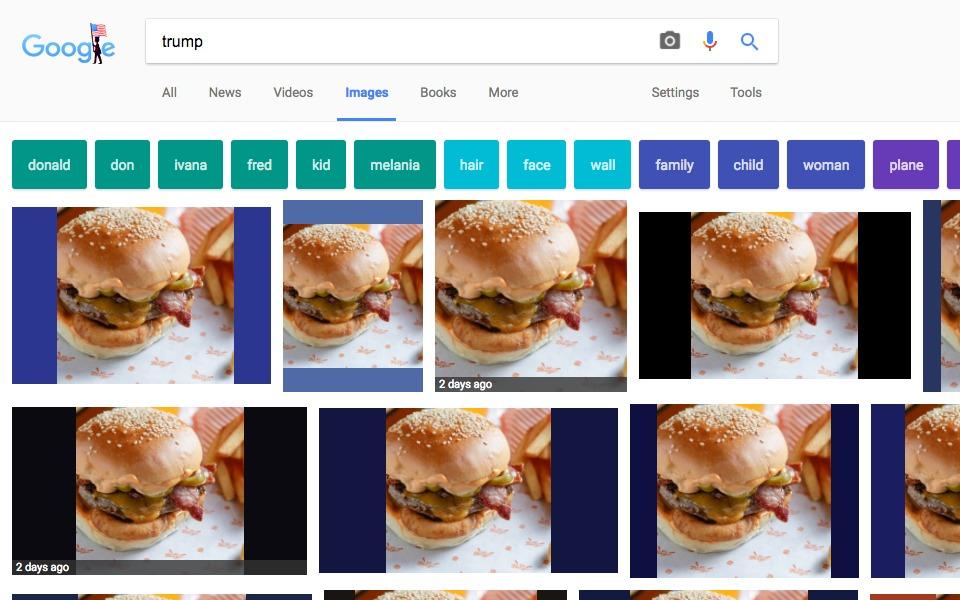 mr burger trump extension