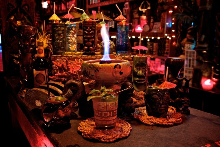 A brief history of the scorpion bowl first we feast for Food bar drinking game
