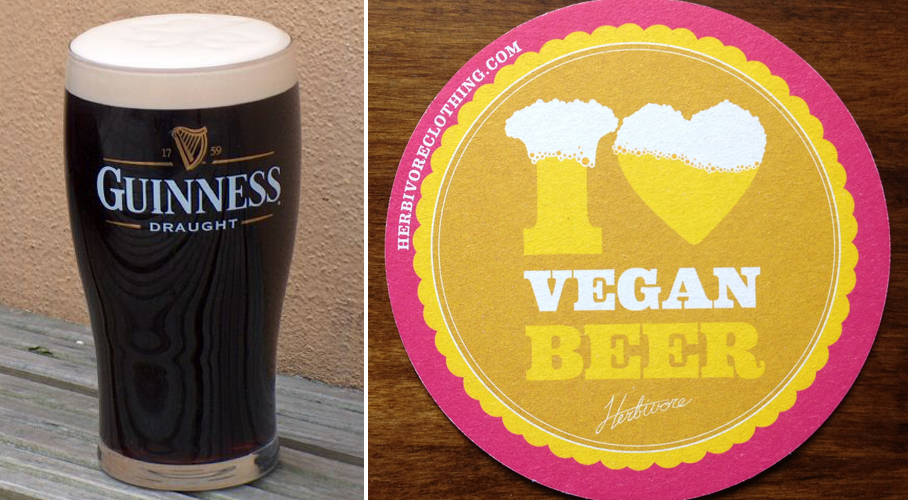 Guinness goes vegan will no longer use fish bladders to for Fish bladder in beer