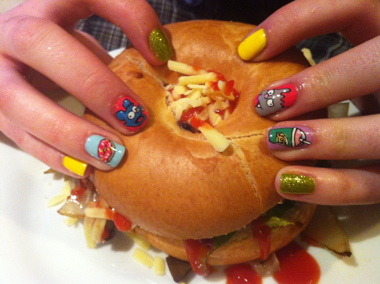 Eat This Tumblr: Burgers and Nails | First We Feast