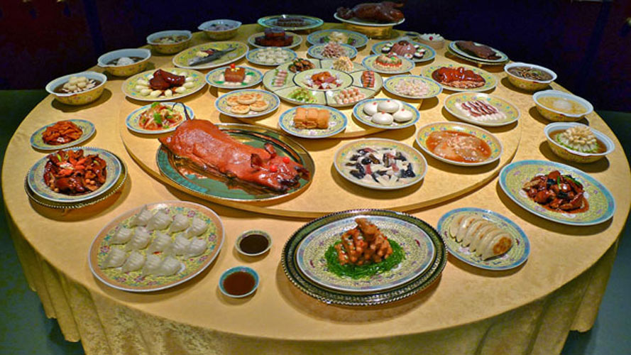 Food museum in hangzhou china is a glittering temple to for 8 cuisines of china