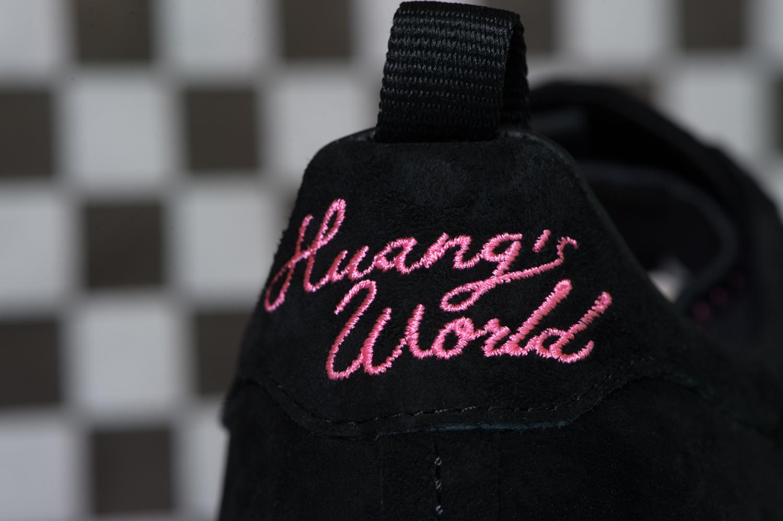 Eddie Huang Adidas Superstar Heel