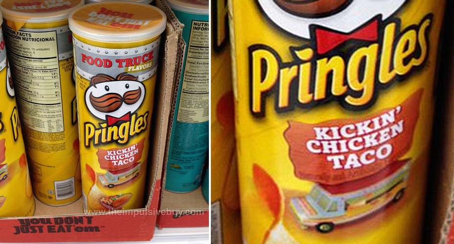 eat pringles releases new food truck flavors kickin cheeseburger and chicken taco