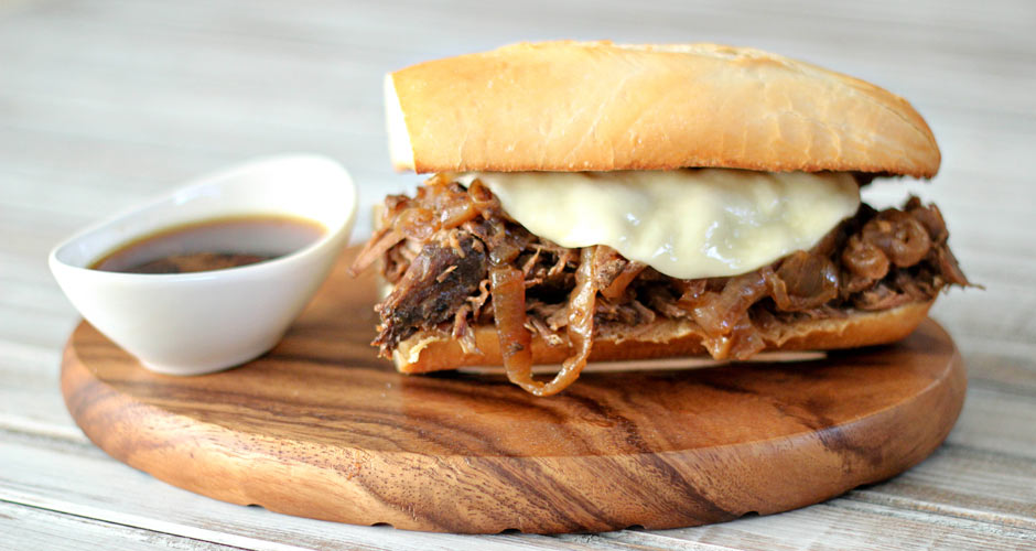 French Dip Sandwiches Au Jus recipe (Photo: Easy Everyday Eats)