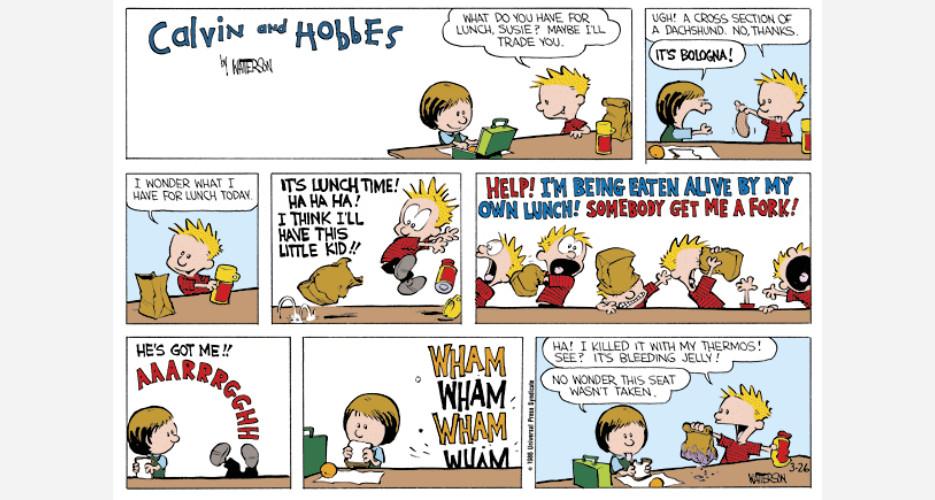 daily dilbert comic strip