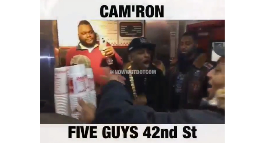 Cam 39 ron started working the register at a five guys on for Cocktail 42nd street