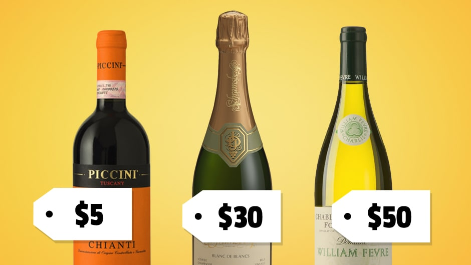 The Best Bottle Of Wine For Every Budget